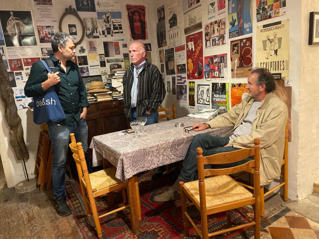 Dessin contemporain, visite de l'atelier du dessinateur à Paris